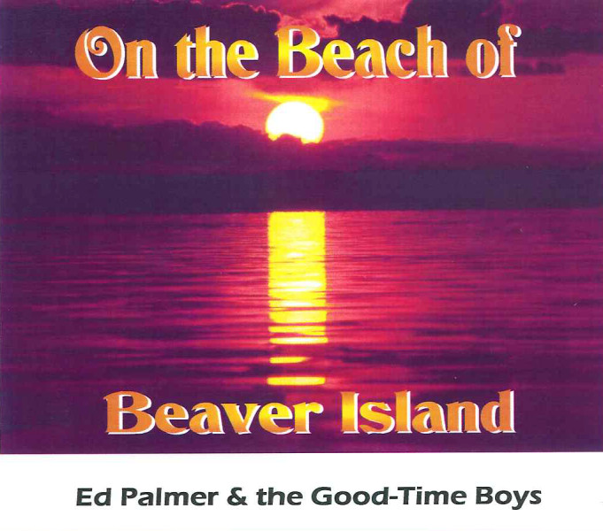 on the beach of beaver island cover